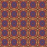 Sömlösa modeller för violett universell vektor som belägger med tegel geometriska prydnadar Arkivfoto
