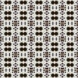 Sömlösa modeller för vit universell vektor som belägger med tegel geometriska prydnadar Royaltyfri Bild