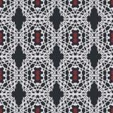 Sömlösa modeller för vit universell vektor som belägger med tegel geometriska prydnadar Arkivbilder