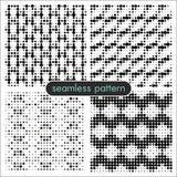 Sömlösa modeller med halvton dots_1 Arkivbild