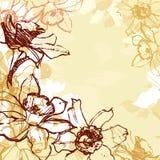 Sömlösa påskliljor Arkivfoton