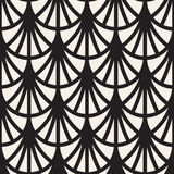 Sömlösa rundade linjer modell för vektor Abstrakt geometrisk bakgrundsdesign Runt geometriskt belägga med tegel galler stock illustrationer