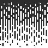 Sömlösa svartvita ojämna rundade linjer för vektor royaltyfri illustrationer