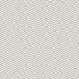Sömlösa svartvita prickiga linjer Maze Pattern för vektor Royaltyfria Foton
