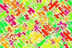 Sömlösa syrliga karmosinröda prickar och celebratory modell för former Arkivbilder