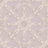 Sömlösa tapeter i stilen av barock Kan användas för bakgrunder och design för sidapåfyllningsrengöringsduk illustration Fotografering för Bildbyråer