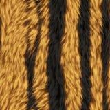 Sömlösa Tiger Animal Fur Background Royaltyfri Bild