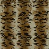 Sömlösa Tiger Animal Fur Background Arkivfoto