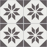 Sömlösa väggtegelplattor för tappning av den slitna ut svarta vita polygonen Royaltyfri Fotografi