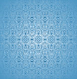 Sömlösa vanliga suddiga modellpastellblått Royaltyfria Bilder