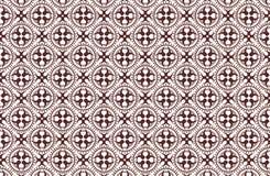 Sömlöst Batiksmattrande royaltyfri illustrationer