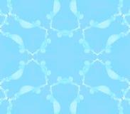 Sömlöst blom- modellljus - blått Fotografering för Bildbyråer