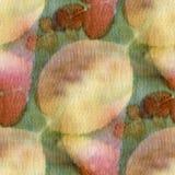 Sömlöst botaniskt tryck vektor illustrationer