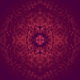 Sömlöst centrerat rött violett purpurfärgat suddigt för prydnad vektor illustrationer