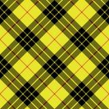 Sömlöst för bakgrund för textur för tyg för Macleod tartankilt diagonalt Royaltyfri Foto