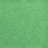 Sömlöst grönt plast- svampskum Fotografering för Bildbyråer