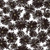 Sömlöst modellmaterial för den abstrakta blomman, planlade jag en blomma abstractly, vektor illustrationer