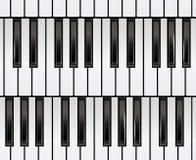 Sömlöst pianotangentbord Royaltyfri Bild
