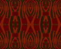 Sömlöst prydnadmörker - som är rött och som är grönt på apelsinen Royaltyfria Foton