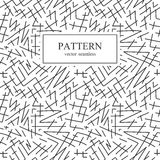 Sömlöst randigt skissar modellen vektor illustrationer