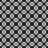 Sömlöst svartvitt modellbakgrundsabstrakt begrepp Arkivfoton