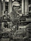 Sömmerska i Nha-Trang Royaltyfri Bild