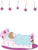 sömn för barn s Arkivbild