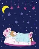 sömn för barn s Royaltyfri Bild