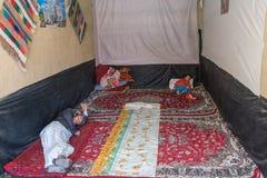 Sömnar i Afghanistan Fotografering för Bildbyråer