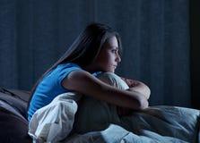 Sömnlöshet Fotografering för Bildbyråer