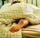 sömntuta Fotografering för Bildbyråer