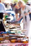 söndag loppmarknad Arkivbild