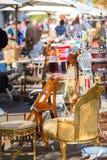 söndag loppmarknad Royaltyfria Bilder