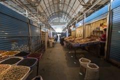 söndag marknad i Bishkek, Kirgizistan Royaltyfri Fotografi