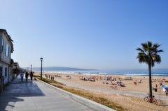 söndag på stranden Royaltyfri Fotografi