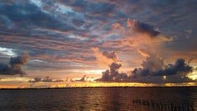 söndag soluppgång Arkivbild