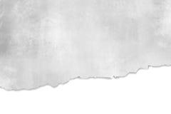 Sönderriven pappers- textur - abstrakt grå bakgrundsdesi Royaltyfri Foto