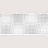 Sönderrivet papper på genomskinlig bakgrund Designmall, vektor Arkivbilder