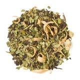 Söt apelsin 22841 för avslappnande te för brasiliangräsplankompis Arkivbilder