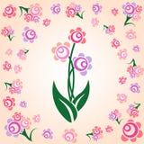 söt blomma Arkivfoto
