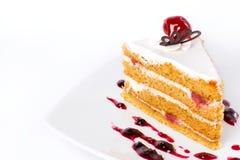 söt cake Arkivbild