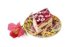 söt cake Royaltyfri Bild