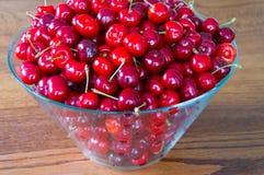 söt Cherryred Royaltyfria Bilder