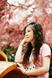 söt flicka Royaltyfria Bilder