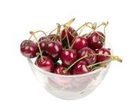 söt glass platta för Cherry Arkivfoto