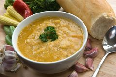 söt grönsak för potatissoup Royaltyfri Foto