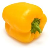 Söt gul peppar Royaltyfria Foton