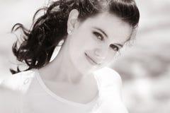 söt härlig flicka Arkivbild
