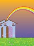 Söt hem- förälskelsemall Arkivbilder