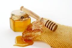 söt honung Arkivfoton